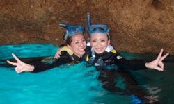 푸른 동굴 스노클링